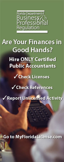 Certified Public Accountants banner