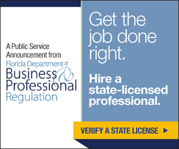 Hire a Licensed Professional - ad