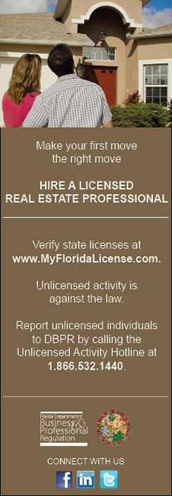 Hire a Licensed Real Estate Professional Ad