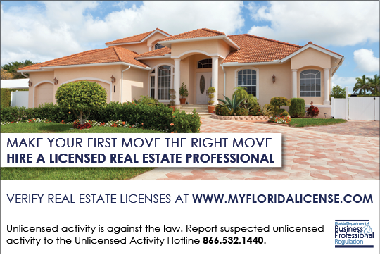 Hire a Licensed Real Estate Professional - Print